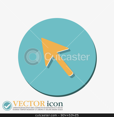 web arrow symbol, cursor icon stock vector clipart, web arrow symbol, cursor icon by LittleCuckoo