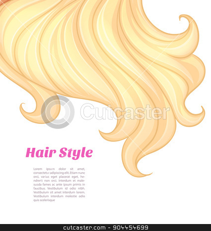 Beautiful and young woman stock vector clipart, Vector illustration of Beautiful and young woman by SonneOn