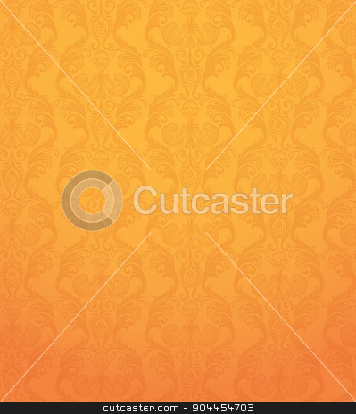 Color Seamless pattern stock vector clipart, Vector illustration of Color Seamless pattern orange background  by SonneOn
