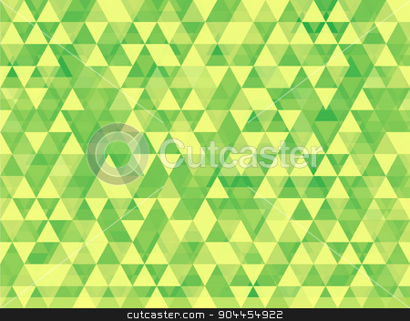 green background stock vector clipart, Triangle abstract vector.Background texture vector.Abstract modern illustration.Web page background.Halftone background design. by Pavel Skrivan