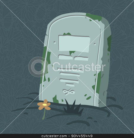 Halloween tomb icon. stock vector clipart, Vector tombs icons for web page backgrounds, postcards, greeting cards, invitations, pattern fills, surface textures. by lemon5ky