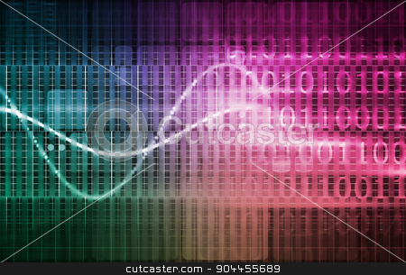 Science Research stock photo, Science Research Breakthrough as a Concept Art by Kheng Ho Toh