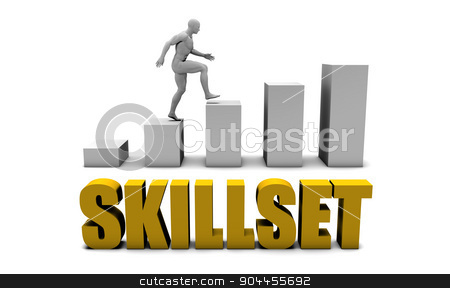 Skillset stock photo, Improve Your Skillset  or Business Process as Concept by Kheng Ho Toh