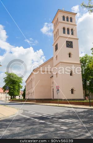 Church Liebenwalde stock photo, Evangelical Church of Liebenwalde in Brandenburg by Bernd Kröger