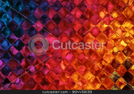 Colorful Background With Bubbles Pattern Effect stock photo, 2D rendered image with bubbles pattern effect by Maribor