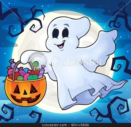 Ghost topic image 9 stock vector clipart, Ghost topic image 9 - eps10 vector illustration. by Klara Viskova
