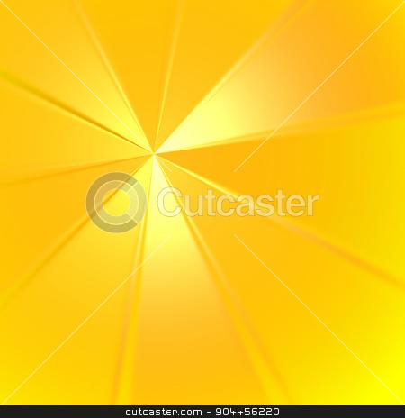 Sunburst Rays stock photo, 2D rendered image. Sunburst rays effect. by Maribor