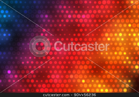 Colorful Background With Bright Dots Effect stock photo, 2D rendered image with bright dots effect by Maribor