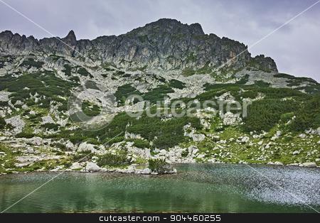 Amazing Panorama of Samodivski Lakes and Dzhangal Peak stock photo, Amazing Panorama of Samodivski Lakes and Dzhangal Peak, Pirin Mountain, bulgaria by Stoyan Haytov