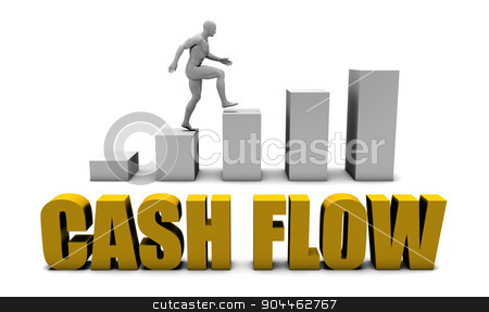 Cash flow stock photo, Improve Your Cash flow  or Business Process as Concept by Kheng Ho Toh