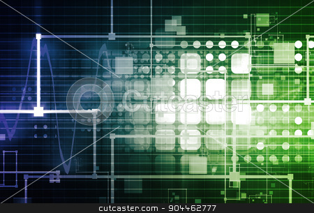Science and Technology stock photo, Science and Technology Abstract as a Concept by Kheng Ho Toh