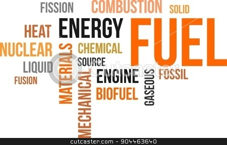 word cloud - fuel stock vector clipart, A word cloud of fuel related items by Amir Zukanovic