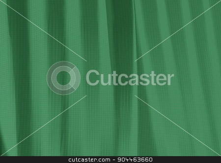 Wrinkled Fabric Texture stock photo, Structure of fabric with folds by close consideration as background by Anatolii Vasilev