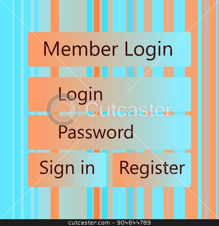 Mobile vector Universal UI Kit form interface for mobile user