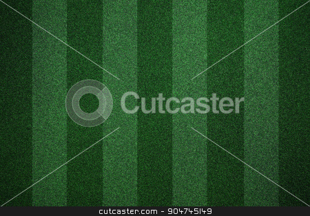 Soccer field background stock photo, Two tone line soccer field background by yodiyim