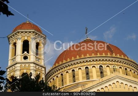 Orthodox church in Saloniki stock photo, Orthodox church in Saloniki, Greece by Pavel Bernshtam