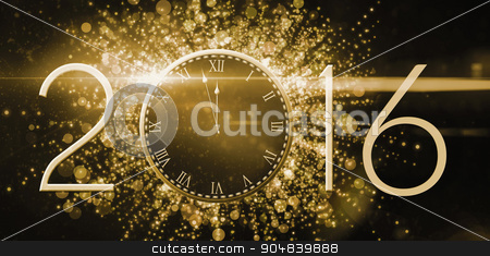 New year countdown graphic stock photo, New year countdown graphic by Wavebreak Media