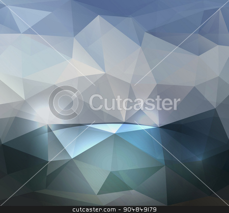 Colorful abstract vector. triangular geometric stock vector clipart, Abstract geometric background with triangular polygons. Vector by Andrey