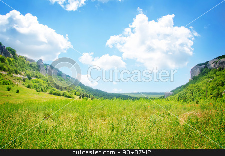 nature stock photo, mountain in Crimea by tycoon