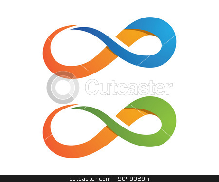 Similar Images Infinity Logo Template