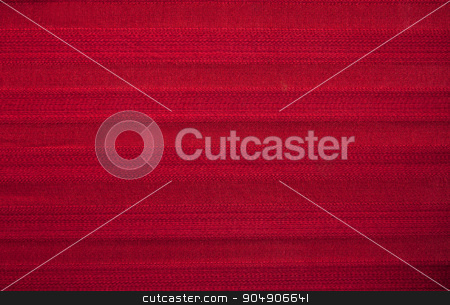 Red Striped Fabric Texture stock photo, Texture image of a red striped fabric.  by AntoniaLorenzo