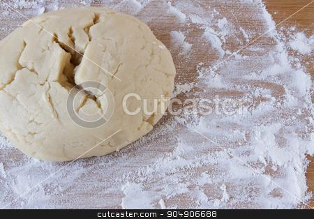 Sugar Cookie Dough stock photo, Sugar cookie dough being prepared for baking.  by AntoniaLorenzo