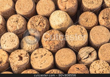 Cork wine stock photo, Close up of a cork wine with differente variation. by Alfredo Steccanella