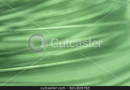 Green tone abstract metallic background. Defocused stock photo, Green tone abstract metallic background. Defocused. Horizontal format by ABBPhoto
