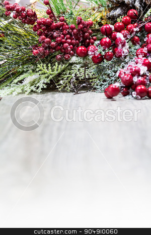 Christmas Holiday Background stock photo, A Christmas holiday background. Room for copy. by Jason Enterline