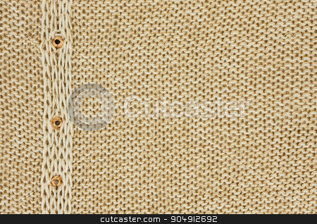 Knitted fabric ,background stock photo, Background knitted fabric with gold thread by alekleks