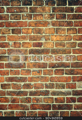 Brick wall background. Free space for your ideas stock photo, Brick wall background. Free space for your ideas. by AlisLuch