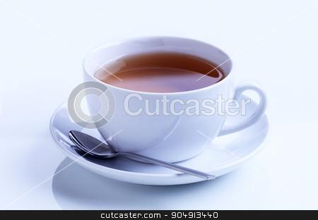 Cup of tea stock photo, Cup of black tea - studio shot by Digifoodstock