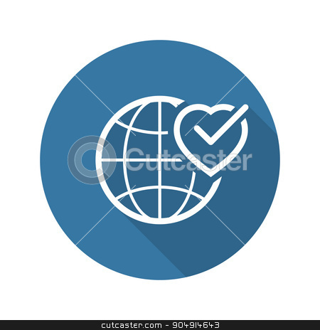 Health Assistance Icon. Flat Design. stock vector clipart, Health Assistance Icon. Flat Design Isolated Illustration. by Vadym Nechyporenko