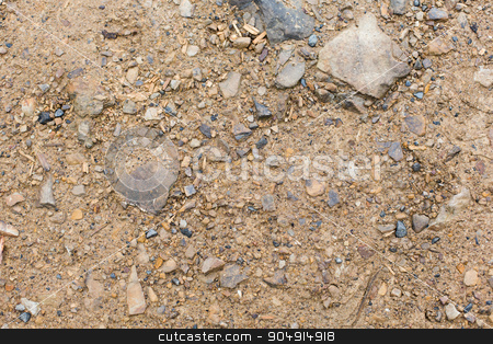 close up of brown ground stock photo, background, texture and nature concept - close up of brown ground by Syda Productions
