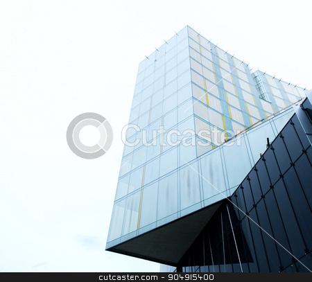 modern office building facade stock photo, architecture and construction concept - modern office building facade by Syda Productions