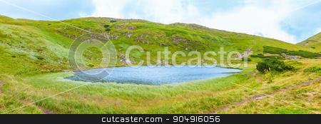landscape of the Lake Nesamovyte  stock photo, landscape of the Lake Nesamovyte in Carpathians by MegaArt
