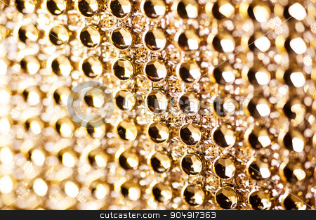 texture of golden jewels for background stock photo, texture of golden jewels for background. by timonko