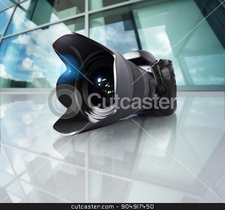 Wide angle camera stock photo, Image of camera with wide angle lens by Federico Caputo
