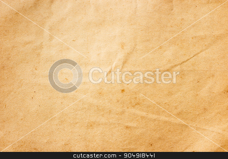 old brown color paper stock photo, The texture of old brown color paper by stockdevil