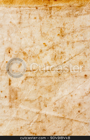texture of dirty and crumple old paper stock photo, The texture of dirty and crumple old paper by stockdevil