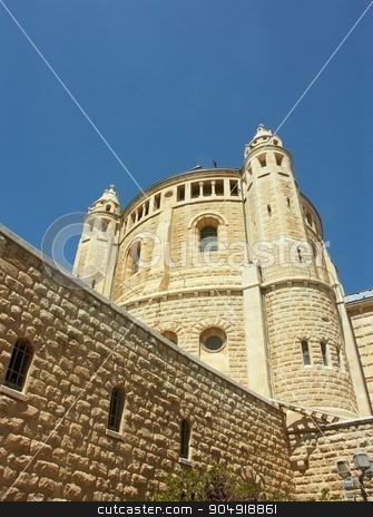 Jerusalem cathedral stock photo, Holy churches - Old City, Jerusalem by Pavel Bernshtam