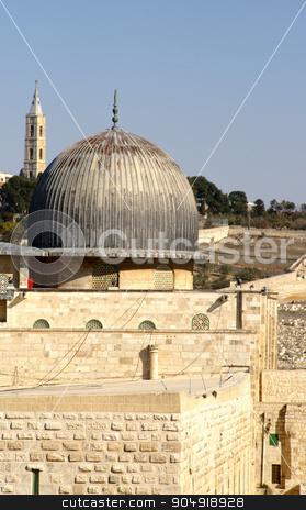 jerusalem old city - al aqsa mosque stock photo, jerusalem old city - al aqsa mosque on a temple mount by Pavel Bernshtam