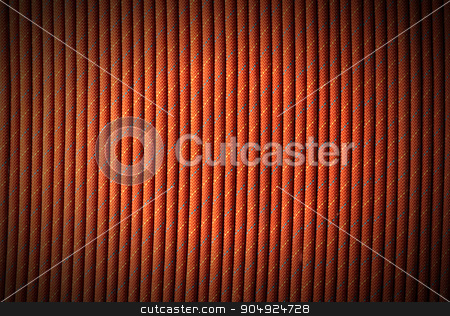 Background with Climbing Rope stock photo, Red, orange, yellow and blue nylon rope for climbing sport. Background for a mountain sport by catalby