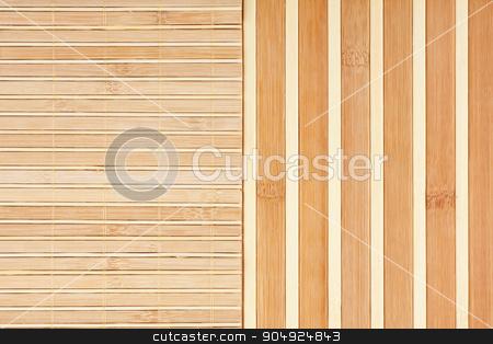 Bamboo mat background.  stock photo, Bamboo mat background. The  mat from yellow bamboo  by alekleks