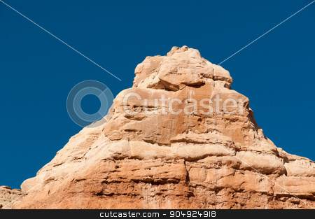 Redstone Mound stock photo, Geological formations in southern Utah by Daniel Stewart