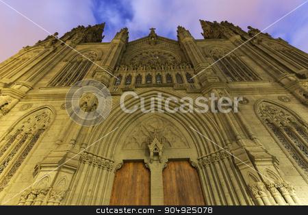 Church Of San Juan Bautista in Arucas stock photo, Church Of San Juan Bautista in Arucas. Arucas, Gran Canaria, Canary Islands, Spain.  by Henryk Sadura