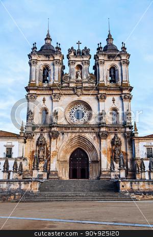 Alcobaca Monastery  stock photo, Alcobaca Monastery on Piazza 25 April . Alcobaca, Oesste, Portugal by Henryk Sadura