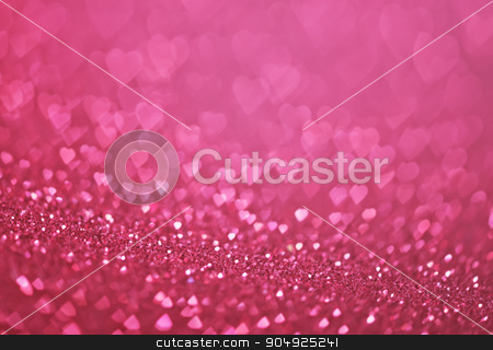 heart bokeh stock photo, heart bokeh, colored bokeh, christmas and valentinas day background by tycoon