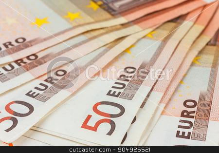 Euro close-up stock photo, Euro close-up, may be used as background by alekleks