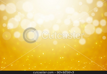 Abstract colorful bokeh light background. stock photo, Gold Abstract colorful bokeh light background. by Miss. PENCHAN  PUMILA